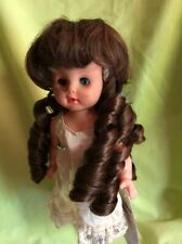Nicole Lt Brown Size 10-11 New Doll Wig Ringlets Modacrylic By Playhouse