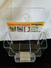 Acrylic Literature & Business Card Holder Great for Model Homes