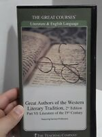 Great Authors of Western Literary Tradition 2nd Edition Part 6 Great Courses DVD