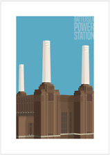 Battersea Power Station, London. The London Architectural Collection. Signed.