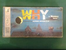 Why: A Mystery Game presented by Alfred Hitchcock 1958 board game (Used)