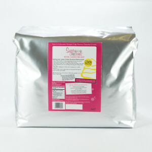 Sugar and Crumbs 5kg Lemon Drizzle Natural Flavoured Icing Sugar-GLUTEN FREE-