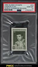 1964 Slania Stamps World Champion Boxing Cassius Clay Muhammad Ali #23 PSA 10