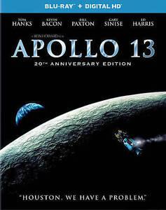 Apollo 13 (Blu-ray Disc, 2015, 20th Anniversary Edition Includes Digital Copy)