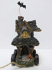 Boyd's Halloween Tug Along Hildas Haunted House Pull toy #654112 Brand New Mint