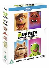 The Muppets Bumper 6 Movie Box Set (Blu-ray, 5 Discs, Region Free) *NEW/SEALED*