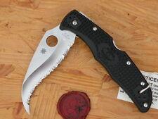 Spyderco C12SBK2 Matriarch2, Lightweight Black, S