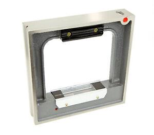 Rahmenwasserwaage Rahmenrichtwaage Maschinenwasserwaage 100 150 200 250 0,02