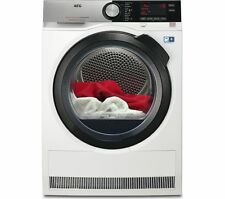 AEG T8dsc849r Freestanding 8kg a Rated Heat Pump Tumble Dryer in White