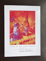 Dr Who - Dalek Print 'Vote Of No Confidence' Signed by the Artist Dennis Markuss