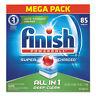 FINISH Powerball Dishwasher Tabs, Fresh Scent, 85/Box 89729