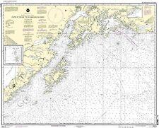 NOAA Chart Cape St. Elias to Shumagin Islands; Semidi Islands 30th Edition