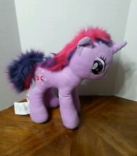 "Hasbro My Little Pony 17"" Twilight Sparkle Purple Plush Pink Purple Hair"