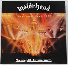 MOTORHEAD No Sleep Til Hammersmith LP 180g Eur 2015  NEW/SEALED
