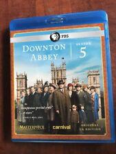 Downtown Abbey: Season 5 (Blu Ray , 2015, 3-Disc Set)