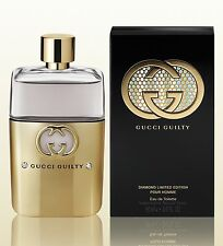 Gucci Guilty Diamond Limited Edition Pour Homme 3.0 Oz 90ml Spray For Men