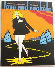 SIGNED By All 3 Hernandez Brothers  Love And Rockets No 2  30th Anniversary  APE