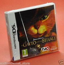 IL GATTO CON GLI STIVALI DS NINTENDO compatibile 3DS DSi Lite XL ...