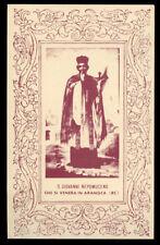 """santino-holy card""""S.GIOVANNI NEPOMUCENO-ARANGEA"""
