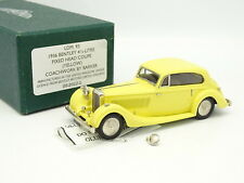 Lansdowne Models 1/43 - Bentley 4.5L Fixed Head Coupe Barker 1936 Jaune
