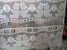 rideaux neuf avec des ours L 90 cm vendu par tranche de 18 cm