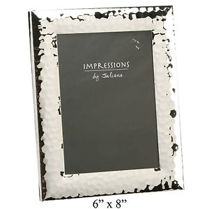 """JULIANA BOXED HAMMERED FINISH PICTURE PHOTO FRAME - 4""""x6"""", 5""""x7"""", 6""""x8"""" 10""""x8"""""""
