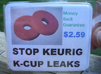 EASY FIX - STOP COFFEE LEAKS FROM REUSABLE K CUP EKOBREW, SOLOFILL, CAFE KEURIG
