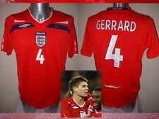 England Gerrard Shirt Jersey Football Soccer Adult L Liverpool Top 2008 Trikot