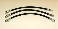 JAGUAR XK120 & XK140 A CAR SET OF 3 BRAKE HOSES