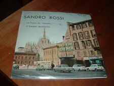 "SANDRO ROSSI ""LA CESIRA DEL GAMBER-ELCAVALIER STRAFALCIONI"" MILANO ITALY'63"