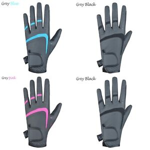 Horse Riding Equestrian Gloves Synthetic Leather Ladies breathable Gloves