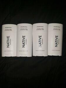 4 Native Charcoal Deodorant