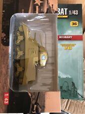 1/43 1/43eme Altaya Ixo Char blindé tank M3 Grant Royaume Uni UK Army Militaire