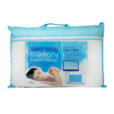 Contour Memory Foam Cooling Gel Pillow Orthopaedic Firm Head Neck Back Support