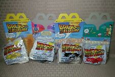 Vintage 1991 Mcdonald's Happy Meal Toys Back To The Future Full Set + Box