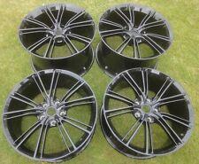 "XBCG: Set of 4 mint Genuine Aston Martin Vanquish 20"" Black wheels: DB11, Rapide"