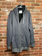 Sonoma Fleece Lined 3XB Hoodie Heather Gray NWT