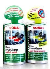 69,97 €/L 2x SONAX KLIMA POWER CLEANER ANTIBAKTERIELL + ANTI-GERUCHSFORMEL