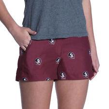 Medium, Florida State Seminoles Womens NCAA Toulon Polyester Gym Style Shorts