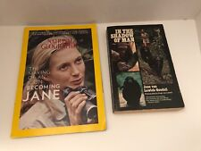 Book In The Shadow Of Man 1st Delta 1974 Jane Goodall National Geographic 2017