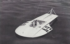 """Snoopy Racing Hydroplane Model Boat Ship Plans, Templates & Instrucions 28"""""""