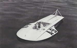 Snoopy Racing Hydroplane Model Boat Ship Plans, Templates & Instrucions 28""