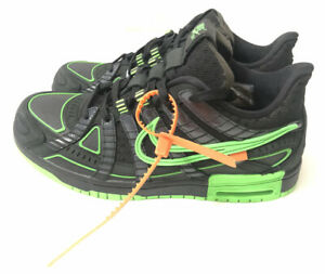 Nike Air Rubber Dunk x Off-White Retro Green Strike Size 9 (CU6015-001)