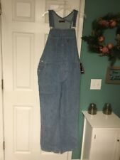 VINTAGE Adult Ralph Lauren Polo Jeans Overalls Denim Size Large (CON18)