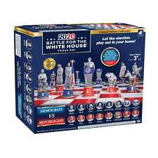 Battle For The White House Collectible Edition Chess Set - New 2020!