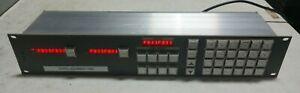 PRO-BEL 6276/6277 Pro Video & Audio Switching Matrix Router Panel RS485 Input