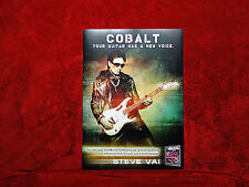 Three (3)<<>>Steve Vai Ernie Ball Promo Posters