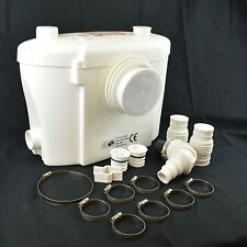 Trituratore Sanitario Maceratore Lame Acciaio WC TURBO+ Filtro Antiodore Silenzi
