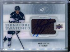 14-15 Ice Signature Swatches Jersey Auto Anze Kopitar