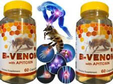 2 Bio Bee Therapy Venom Extract anti-inflammatory Miracle Arthritis Pain Cure